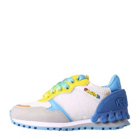 SCARPA KID LIU JO SNEAKERS ME CONTRO TE WHITE / ORANGE / YELLOW 121