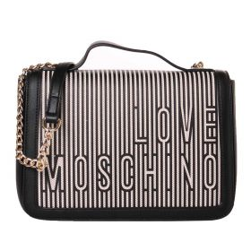 BORSA DONNA LOVE MOSCHINO CROSSBODY NATURALE/NERO JC4233PP0CK 121