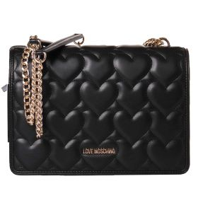 BORSA DONNA LOVE MOSCHINO CROSSBODY NERO JC4248PP0CL 121