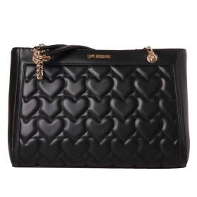BORSA DONNA LOVE MOSCHINO SHOPPING ORIZZONTALE NERO JC4251PP0 121