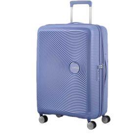 TROLLEY MEDIO AMERICAN TOURISTER SOUNDBOX DENINM BLUE 67-24 EXP SPINNER