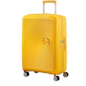 TROLLEY MEDIO AMERICAN TOURISTER SOUNDBOX GOLDEN YELLOW 67-24 EXP SPINNER