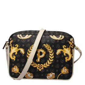 BORSA DONNA POLLINI TRACOLLA HERITAGE QUEEN FOR A DAY NERO / AVORIO TE8414 121