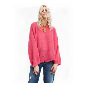 ANIYE BY MAGLIONE DONNA PULL OVER SWEET FUXIA 181015 221