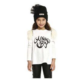 T-SHIRT KID ANIYE BY GIRL MAGLIETTA FLUFFY BIANCO 111207 221