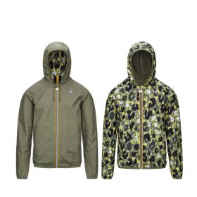 GIACCA UOMO K-WAY JACQUES PLUS DOUBLE GRAPHIC K0085Y BLUE DEPHT 121