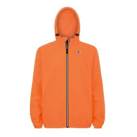 GIACCA UNISEX K-WAY LE VRAI 3.0 CLAUDE ORANGE FLUO 121