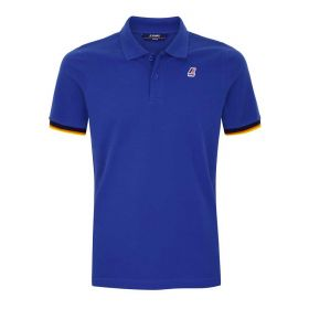 POLO UOMO K-WAY VINCENT COTONE BLUE ROYAL K0089N 121