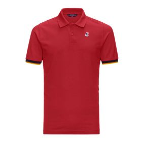 POLO UOMO E KID K-WAY VINCENT COTONE RED K0089N 121