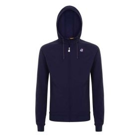 FELPA UOMO K-WAY FLEECE RAINER BLUE DPHT 121