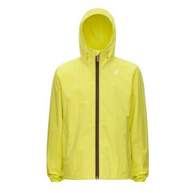 GIACCA UOMO K-WAY JACQUES CORTO CRINKLE RIPSTOP YELLOW K5118I 121