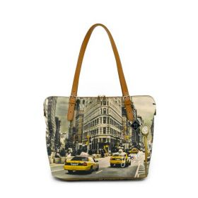 BORSA DONNA Y NOT? SHOPPING BAG NEW YORK FIFTH AVENUE YES377