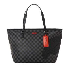 BORSA DONNA SPRAYGROUND SHOPPING BAG BLACK HENNY D3570 CO