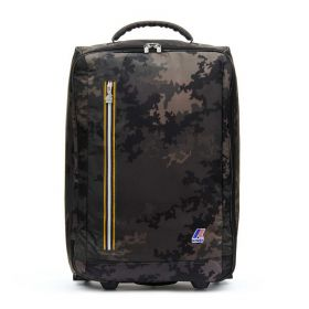 TROLLEY CABINA K-WAY K-POCKET CAMO BLACK K00B78