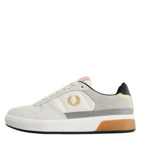 SCARPA UOMO FRED PERRY SNEAKER B300 SUEDE MESH PORCELAIN B1263 121