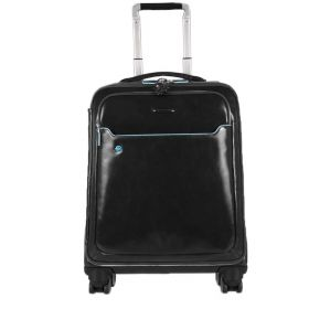 TROLLEY PIQUADRO CABINA DA VIAGGIO BLUE SQUARE NERO BV3849B2/N CO