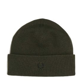 CAPPELLO UOMO FRED PERRY TIPPED BEANIE VERDE C9160 221