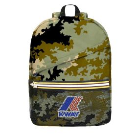 ZAINO UNISEX K-WAY BACKPACK LE VRAI 3.0 FRANCOIS GRAPHIC K0087Y CAMOUFLAGE 120