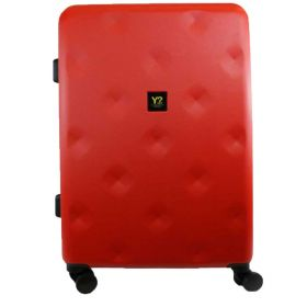 TROLLEY GRANDE RIGIDO Y NOT? ROMBO RED 4 RUOTE SPINNER 12003 120