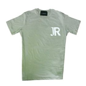 MAGLIETTA UOMO JOHN RICHMOND T SHIRT CRANMER MUD / WHITE UMP20026 120