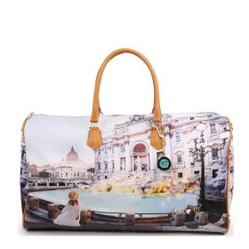 BORSONE DONNA Y NOT? WEEKEND BAG ROMA TREVI YES359S1 121