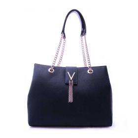 BORSA DONNA VALENTINO BAGS SHOPPING BAG DIVINA NAVY VBS1IJ05 121