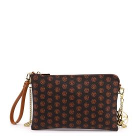 POCHETTE DONNA Y NOT? CLUTCH ICONIC BROWN CO303 121