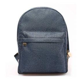 ZAINO DONNA BORBONESE BACKPACK BLUE/BLACK 934105 CO