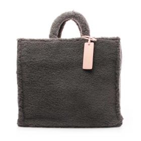 BORSA DONNA COCCINELLE A MANO NEVER WITHOUT BAG LARGE SHARK GREY E1IQ918010 221