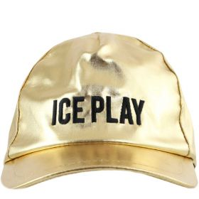 CAPPELLO DONNA ICE PLAY DA BASEBALL LAMINATO ORO 101692 120