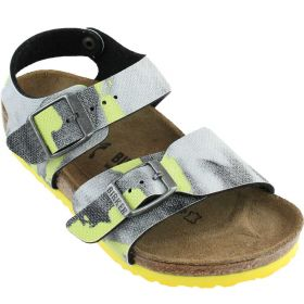SANDALO BIRKENSTOCK NEW YORK CITY RIO KIDS CAMOUFLAGE YELLOW ART 1003229 CO
