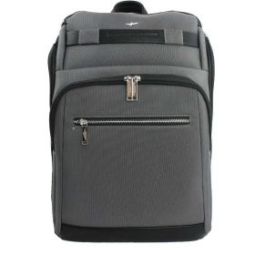 ZAINO UOMO AERONAUTICA MILITARE GRANDE PORTA PC/TABLET URBAN GRIGIO AM325 CO