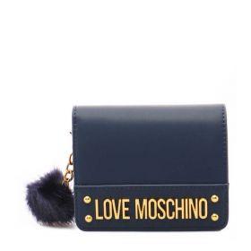 PORTAFOGLIO DONNA LOVE MOSCHINO PU NAVY JC5674 221