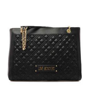 BORSA DONNA LOVE MOSCHINO SHOPPING BAG QUILTED NERO JC4006 221