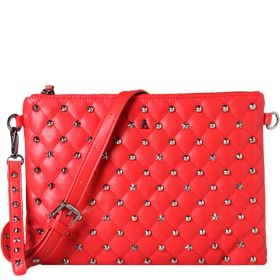 PASHBAG ATELIER DU SAC POCHETTE REBEL SOPHIE RED 110142 220