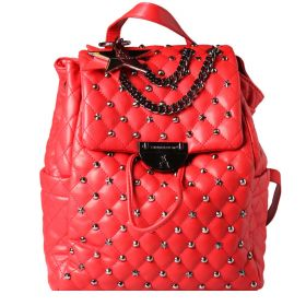 PASHBAG ATELIER DU SAC ZAINO REBEL JOE CON PASHMINA RED 110131 220