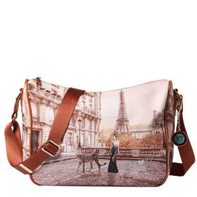 BORSA DONNA Y NOT? HOBO BAG PARIS SAUVAGE YES370S1 121