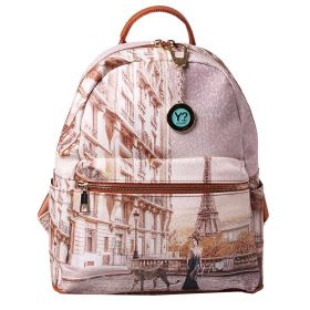 ZAINO DONNA Y NOT? BACKPACK SMALL PARIS SAUVAGE YES380S1 121