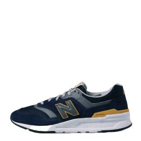 SCARPA UOMO NEW BALANCE SNEAKERS SUEDE NAVY/GOLD CM997HVG 121