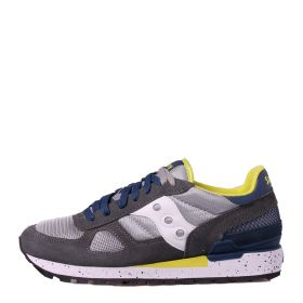 SCARPA UOMO SAUCONY SNEAKER SHADOW ORIGINAL GREY/BLUE/YELLOW S2108 121