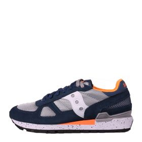 SCARPA UOMO SAUCONY SNEAKER SHADOW ORIGINAL BLUE/GREY/ORANGE S2108 121