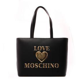 BORSA DONNA LOVE MOSCHINO SHOPPING NERO JC4051 121