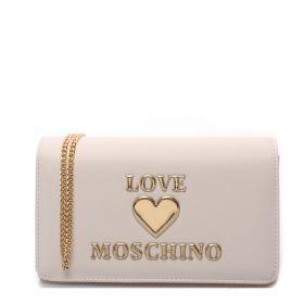 BORSA DONNA LOVE MOSCHINO CROSSBODY BIANCO JC4054 121