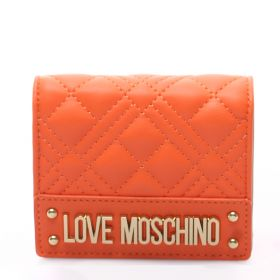 PORTAFOGLIO DONNA LOVE MOSCHINO PADDED ARANCIO JC5628 121