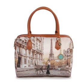 BORSA DONNA Y NOT? BOSTON BAG LARGE SAUVAGE YES571 121