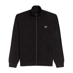 GIACCA UOMO FRED PERRY CONCEALED TAPE BLACK J2553 221