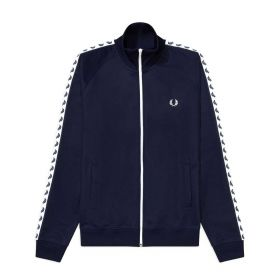 GIACCA UOMO FRED PERRY TAPED CARBON BLUE J6231 221