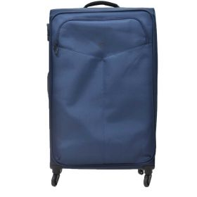TROLLEY GRANDE SOFT Y NOT? NAVY 4 RUOTE SPINNER L9003