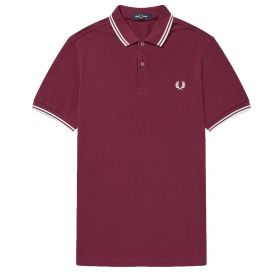 POLO UOMO FRED PERRY TWIN TIPPED PORT M3600 121