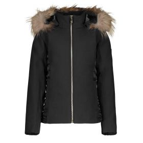 PIUMINO DONNA CIESSE REAL DOWN GLAM GIRL REAL FUR ASPHALT CPWJ32051 219
